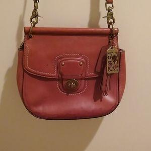 Coach satchel crossbody purse